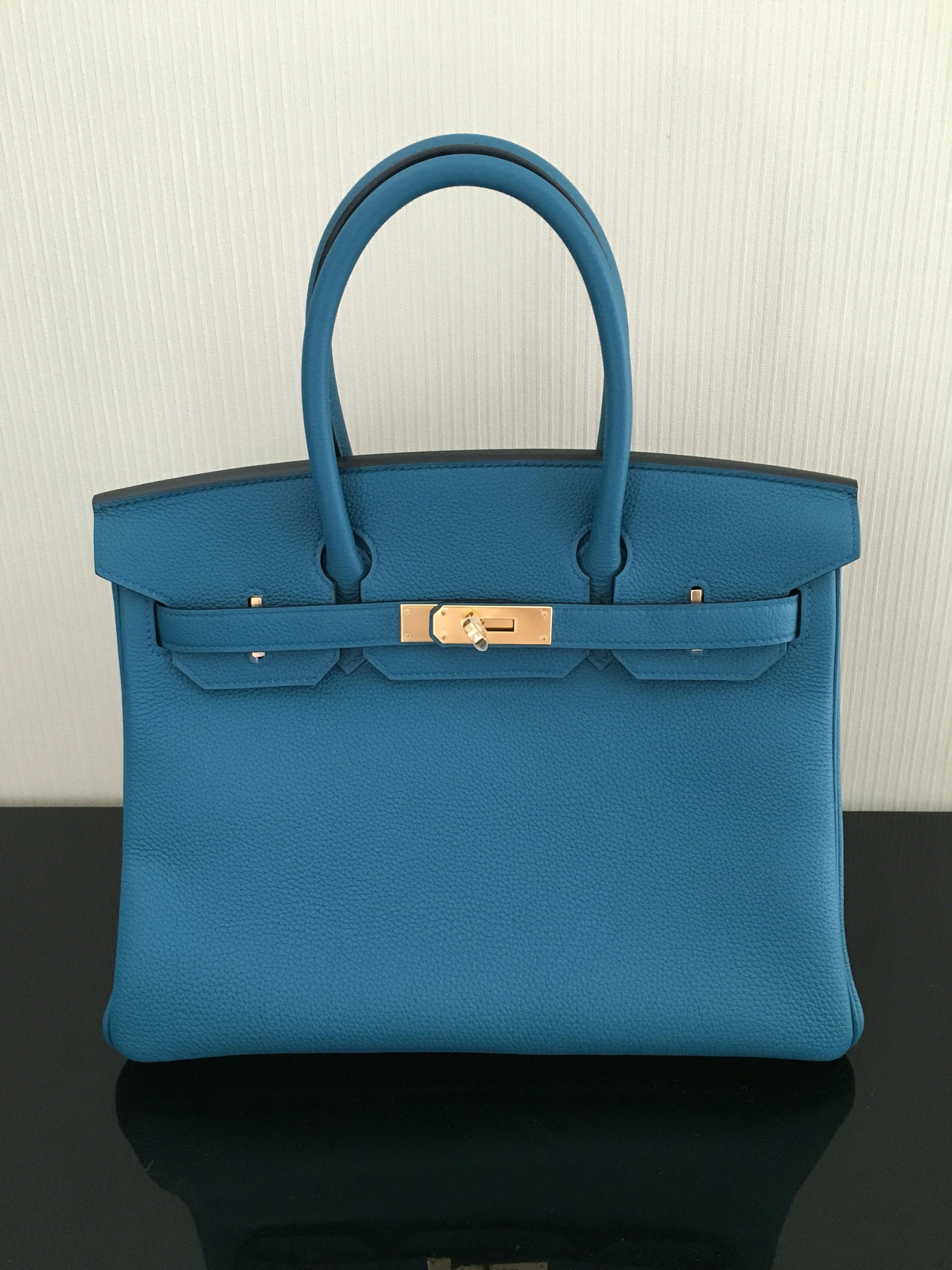 4dadea4b3969 Hermes Birkin 30 Blue Cobalt – Bags Blogger